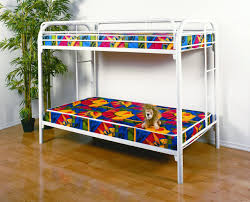 Metal Bunk Beds Twin Over Twin by White Metal Bunk Beds Julian Bowen Atlas White Metal Bunk Bed By