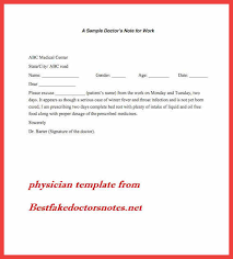 best fake doctor notes free memo example