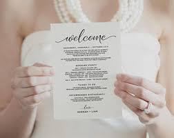Destination Wedding Itinerary Template Wedding Itinerary Template Printable Itinerary Wedding