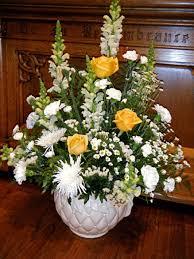 Church Flower Arrangements St Marys Church Battle Flowers At Easter