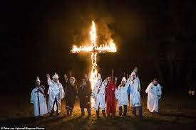 Barn Burning Symbolism Haunting Kkk Photos Show Members Getting Married During Barn