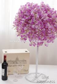 Fake Flowers In Bulk Light Purple Wedding Centerpiece Artificial Wisteria Fake In Bulk