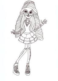 fashion design coloring pages monster high coloring pages kids crafts and activities free