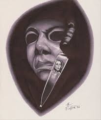 michael myers horror tattoo design photo 2 real photo pictures