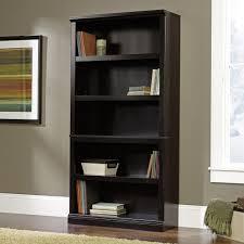Sauder 5 Shelf Bookcase by Sauder Bookshelves American Hwy