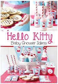 hello kitty baby shower ideas pinkducky com hello kitty baby