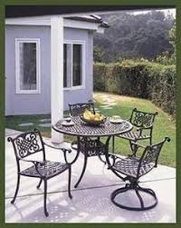 How To Restore Metal Outdoor Furniture by Patio Table And Chair Update Metal Patio Furniture Paint
