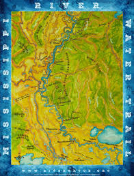 New Orleans Safety Map by Buy Maps Of Lower Mississippi River Lower Mississippi River