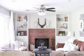 diy built ins around fireplace reveal a modern vintage home