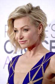 portia de rossi s side swept waves and blushing glow side swept