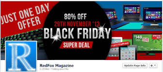 black friday magazine facebook black friday timeline cover with psd file by redfoxmag on