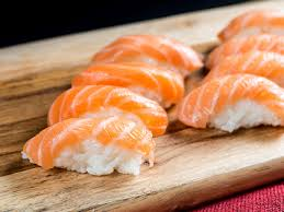 salmon sushi u0027 is the hair color of the summer food u0026 wine