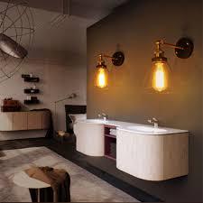 Bad Lampe Klarglas Wandleuchten Küche Lobby Bad Antiken Wandleuchten