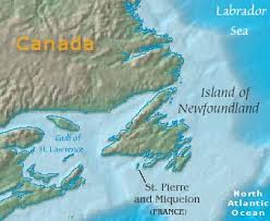 map of st and miquelon map of miquelon