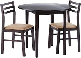 cappuccino dining room furniture collection amazon com coaster 3 piece dining set cappuccino kitchen u0026 dining