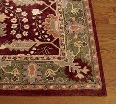 Pottery Barn Franklin Rug Pottery Barn 8x10 Brandon Floral Wool Area Rug These