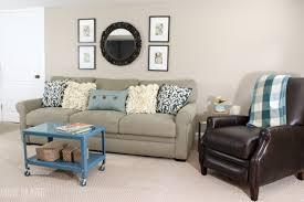 livingroom makeover a big basement living room makeover