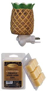 plug in candle night light candles and candle accessories 168138 pineapple wax melter plug in