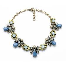 blue bib necklace images 225 best colorfull statement necklace images jpg