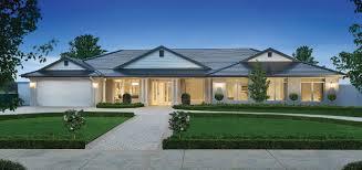 Hillside Home Plans House Marin California Evening Lighting Modern Hillside Plans