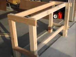 how to build a work table how to build a workbench in only a few steps youtube