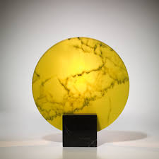 Yellow Table Lamp Acid Marble Table Lamp Lee Broom Lamp The Future Perfect