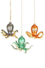 Large Christmas Decorations Uk by Octopus Decorations Christmas Decorations U0026 Ornaments Tree