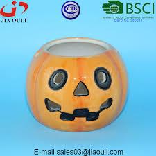 cheap led light ceramic halloween pumpkin buy halloween pumpkin