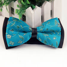 floral bowtie mantieqingway brand fashion polyester bow tie multicolor floral
