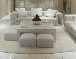 coffee table awesome large round leather ottoman large square