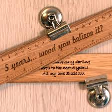 fifth wedding anniversary gift fifth wedding anniversary gift guide wooden gift ideas messages