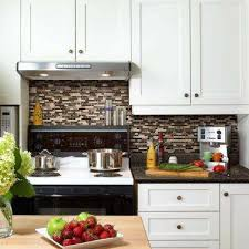 stick on kitchen backsplash tiles tile backsplashes tile the home depot