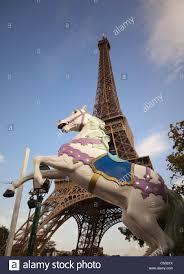 Large Eiffel Tower Statue Carousel Paris Stock Photos U0026 Carousel Paris Stock Images Alamy