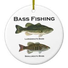 bass fishing ornaments keepsake ornaments zazzle