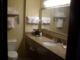 Bathroom Granite Countertop Granite Countertops Bathroom In Room 202 Picture Of Wind River