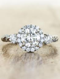 twisted band engagement ring keren twisted rope band engagement ring ken design