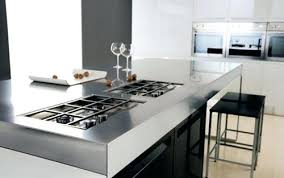 stainless steel kitchen table top stainless steel kitchen table and chairs impressive glass top dining