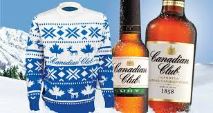 canadian club and the return of bad sweater day drinks world