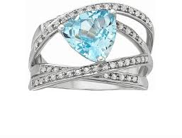 buy rings silver images Jcpenney fine jewelry blue topaz crossover ring sterling silver jpg