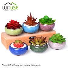 Cute Succulent Pots Online Get Cheap Glazed Ceramic Flower Pots Aliexpress Com