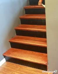 how to install hardwood stairs hardwood stairs easy and basements