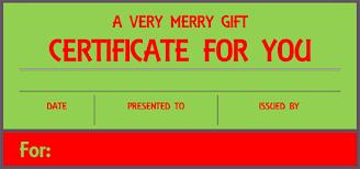 doc 585430 christmas gift certificates templates u2013 christmas
