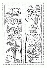 mom you are great mothers day coloring page for kids coloring