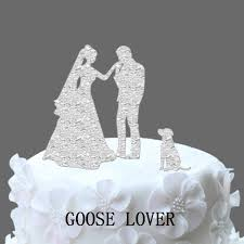 Funny Wedding Cake Toppers With Dog Wedding Cake Topper Silhouette Funny Wedding Cake Topper