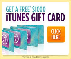 gift cards for free free 1000 itunes gift card free gift cards free