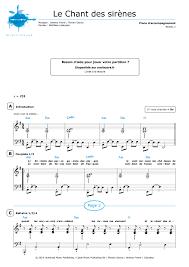 Chandelier Sia Piano Sheet Music Piano Sheet Music Le Chant Des Sirènes Fréro Delavega