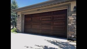 Garage Door Designs Utah Garage Door Painting Make Your Doors Look Like Wood