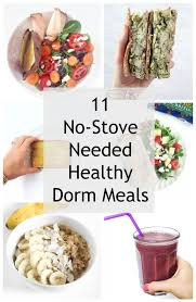 Beginner Beans Simple Dining Room And Kitchen Tour 11 Simple Dorm Room Meals No Kitchen Needed Healthy Liv