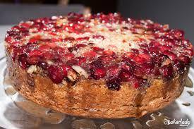 cranberry upside down coffeecake u2013 bakerlady