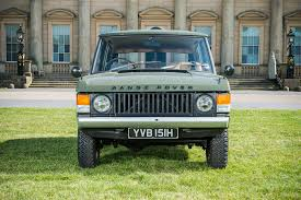 green range rover classic first range rover ever built heads to auction